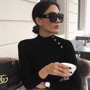 Gucci square GG0141S 001 sunglasses